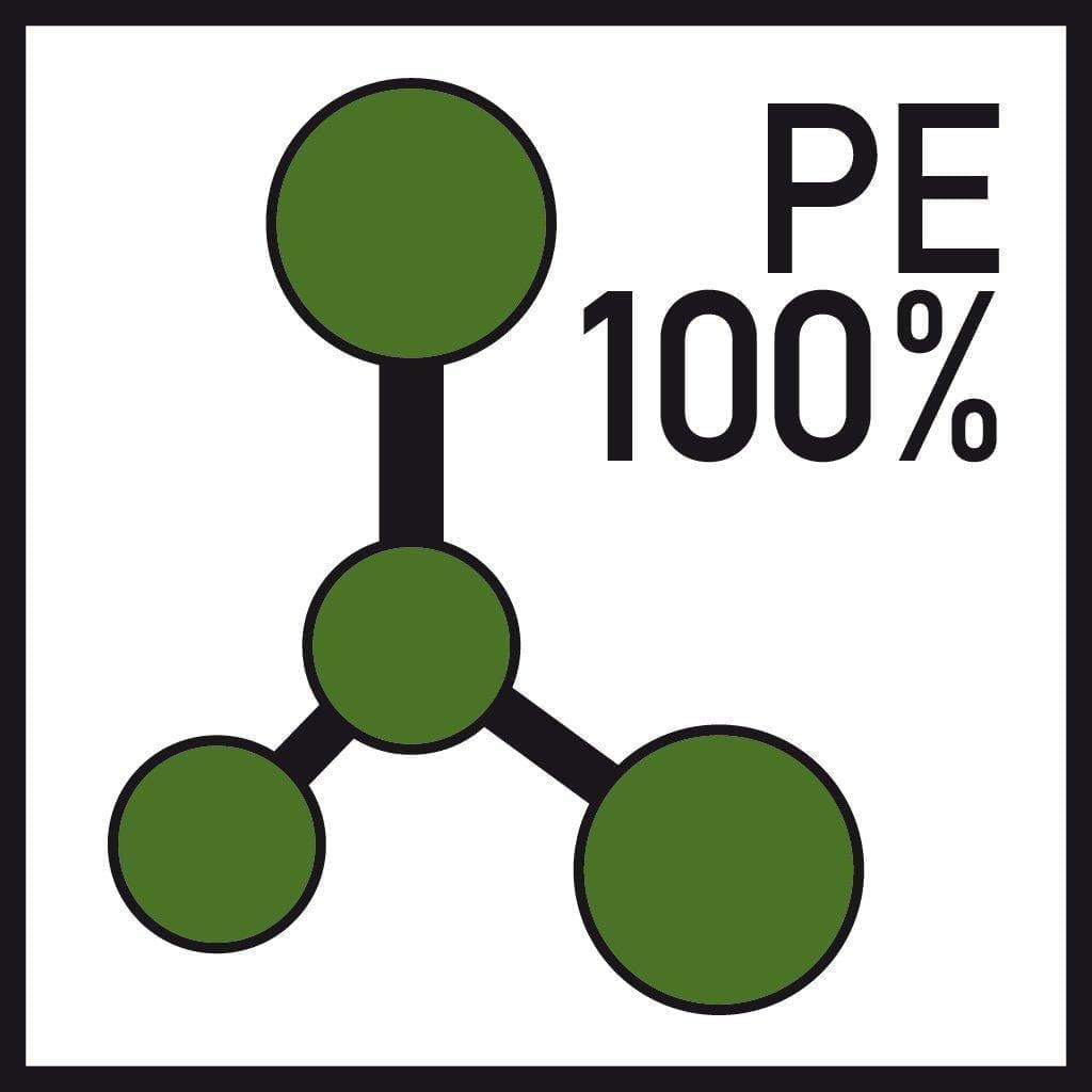 100 % PE formulation