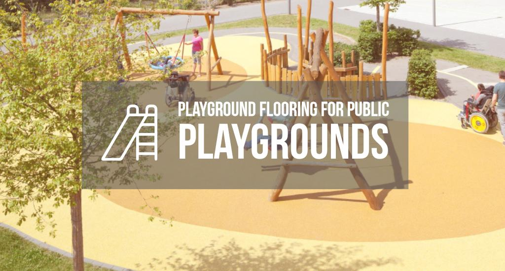 Playground flooring for public playgrounds: playing it safe