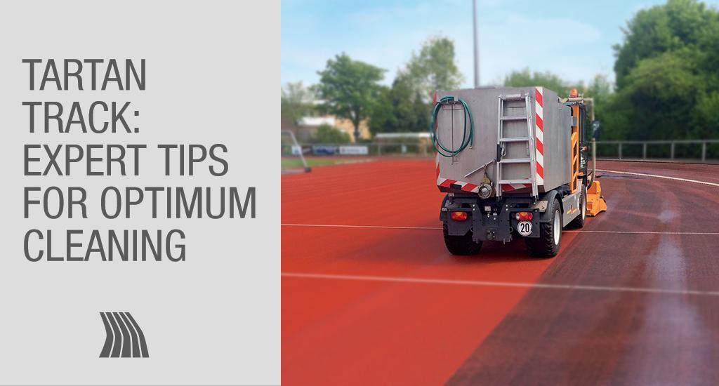 Tartan track: expert tips for optimum cleaning