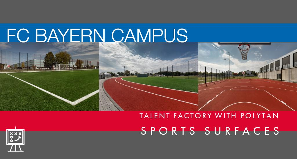 FC Bayern Campus: Talent factory with Polytan sports surfaces