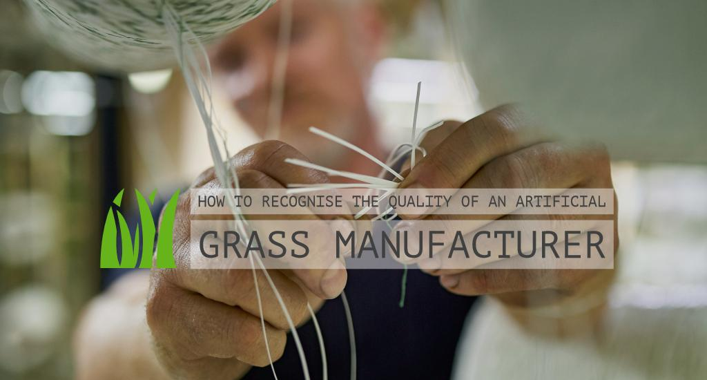 How to recognise the quality of an artificial grass manufacturer