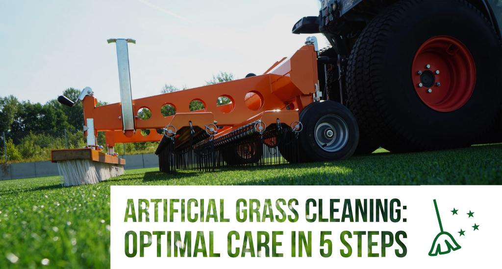 Artificial grass cleaning: Optimal care in 5 steps