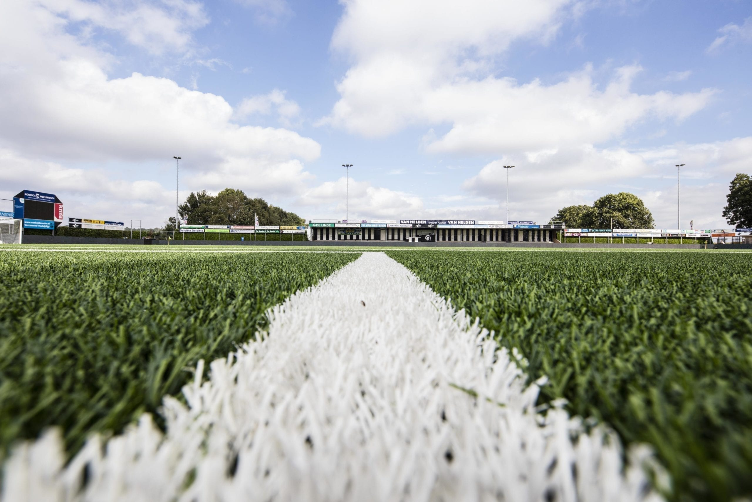 Dutch second division club chooses premium quality from Polytan: