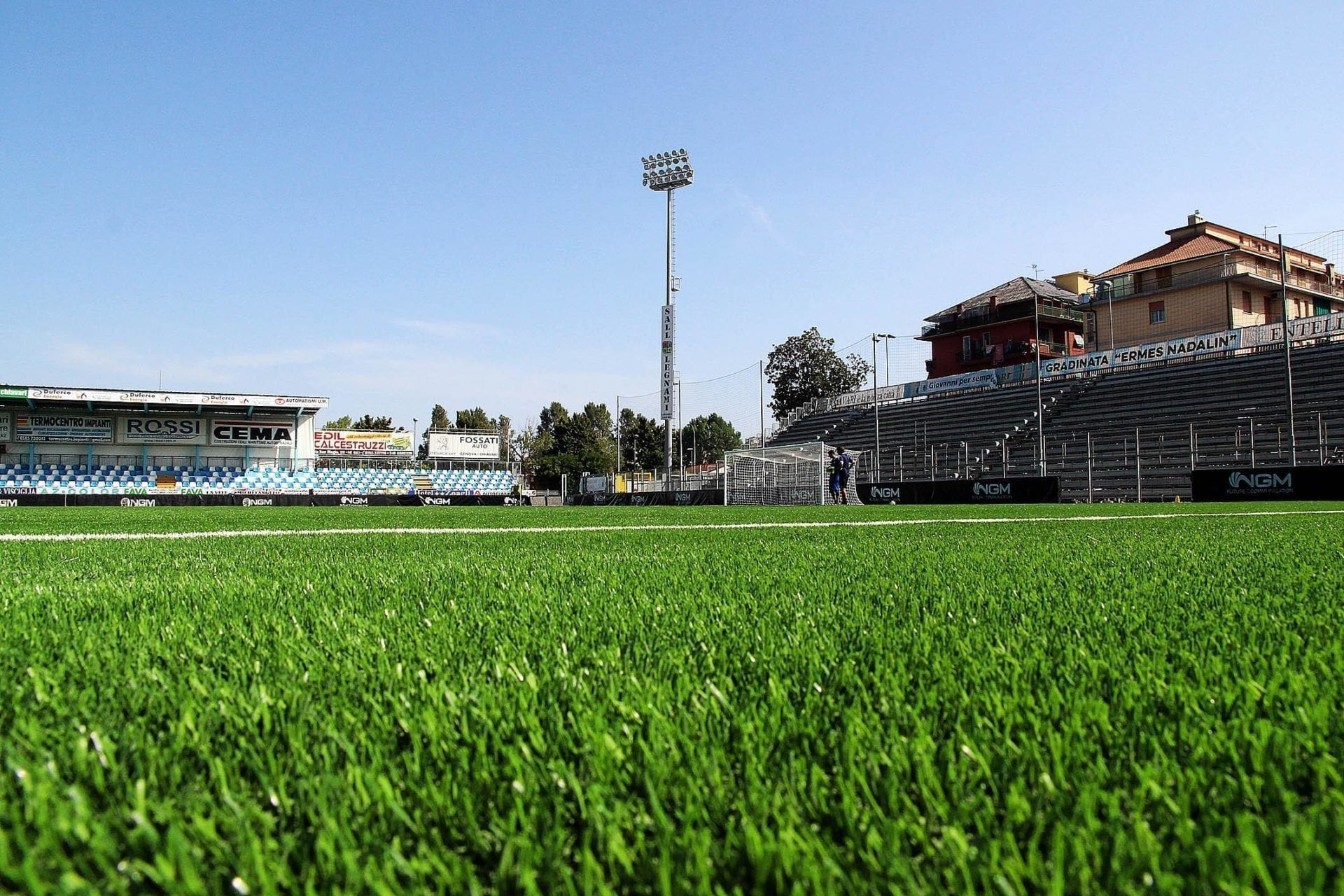 The best synthetic turf in Serie B