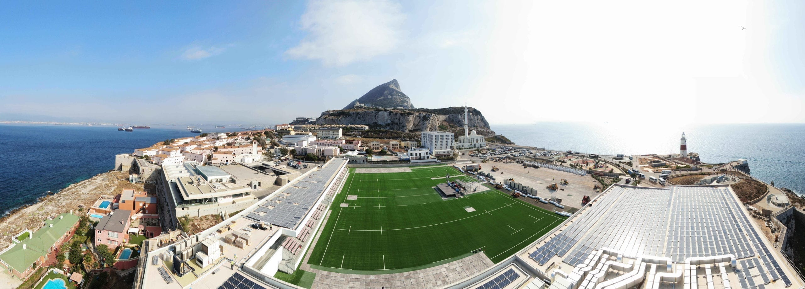 Three major contracts: Polytan building for Island Games in Gibraltar
