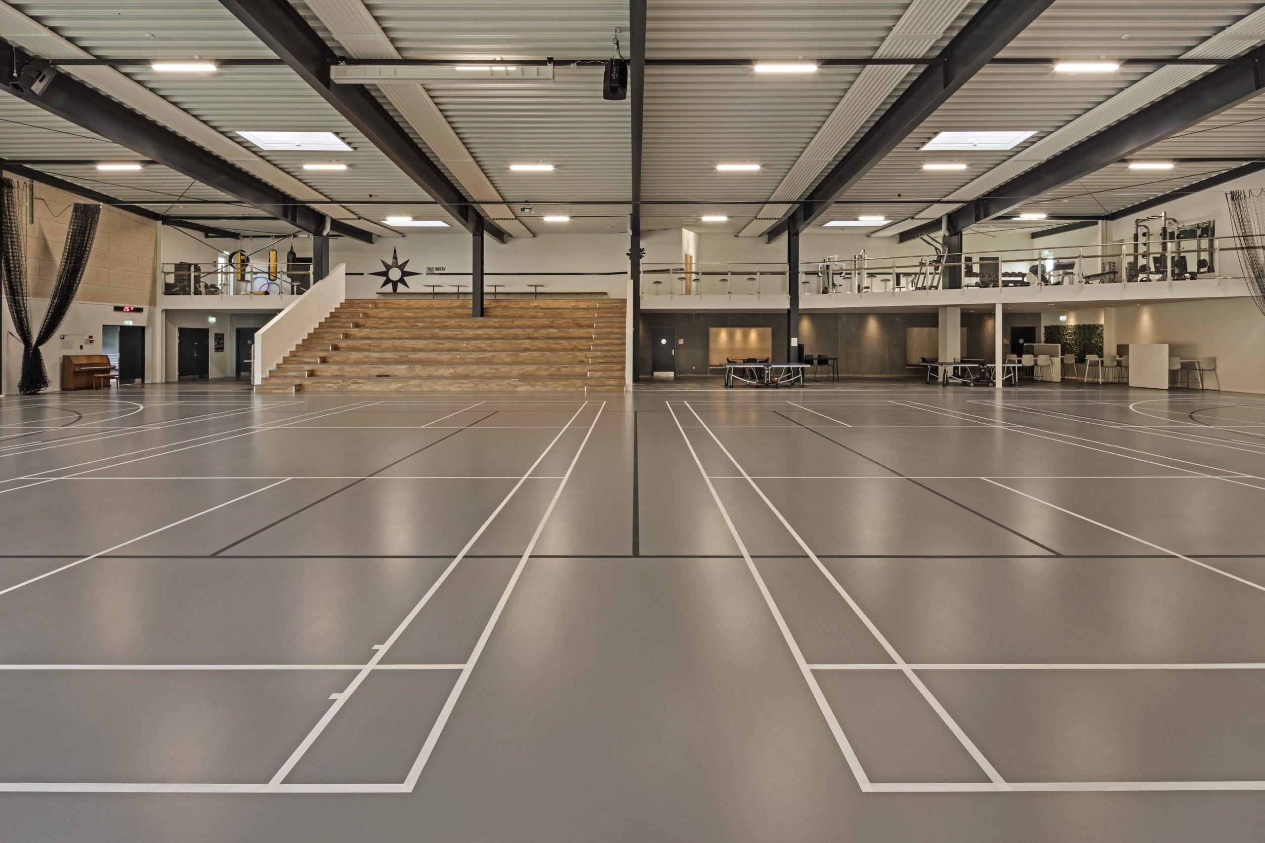 Danish school counts on indoor sports flooring from Polytan: