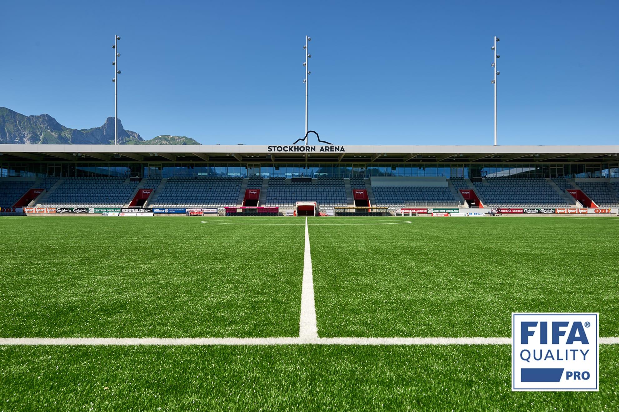 Stockhorn Arena, Schweiz, FIFA Quality Pro