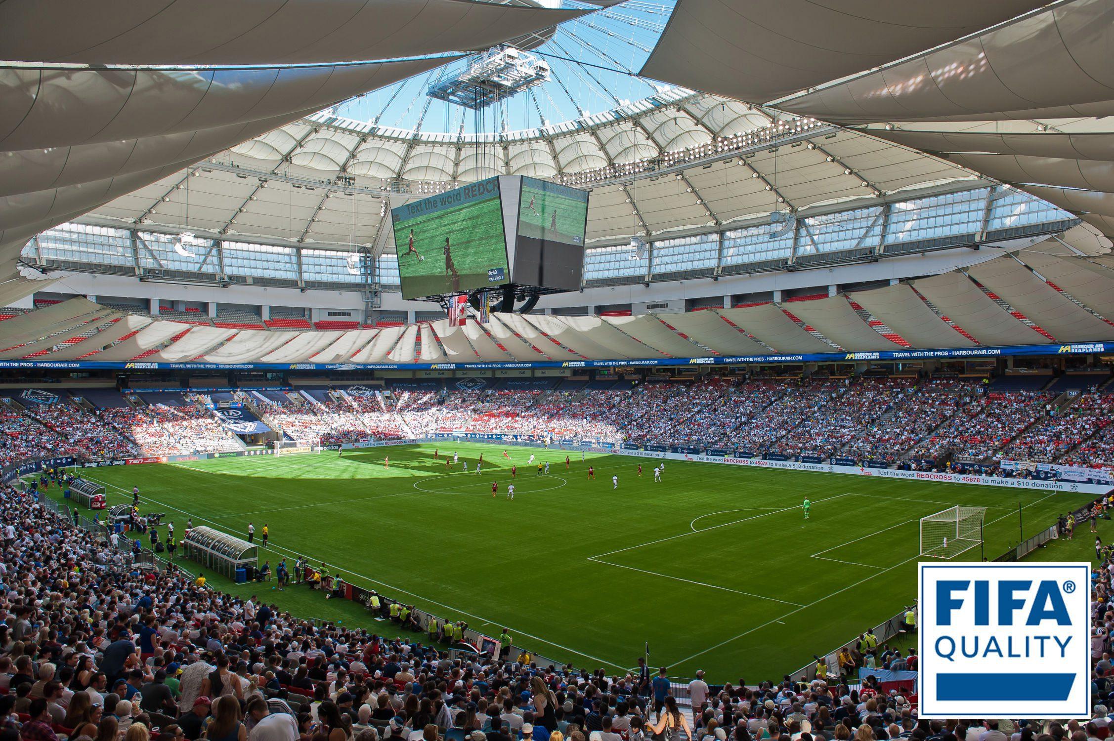 BC Place LigaTurf RS FIFA Quality Pro