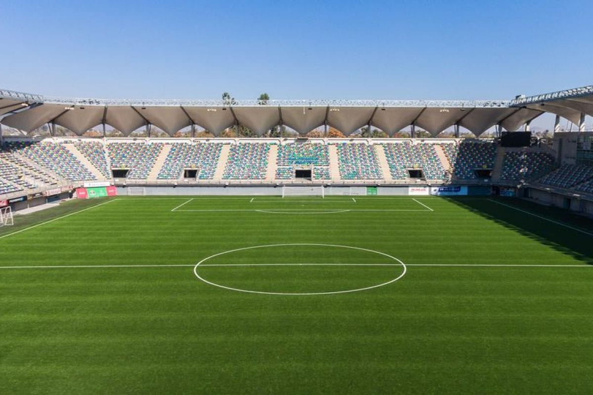 New synthetic pitch for Chile's Primera División