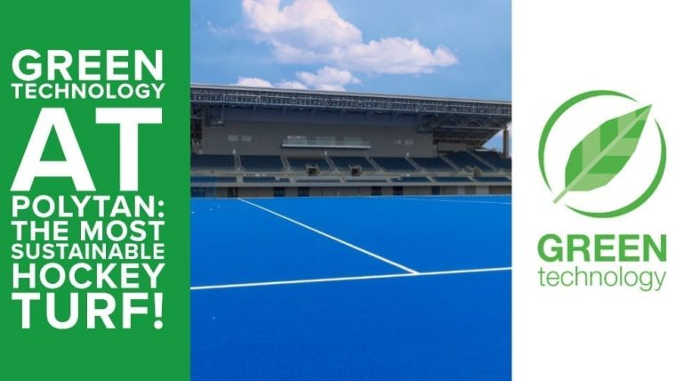 Green Technology at Polytan: the most sustainable hockey turf!