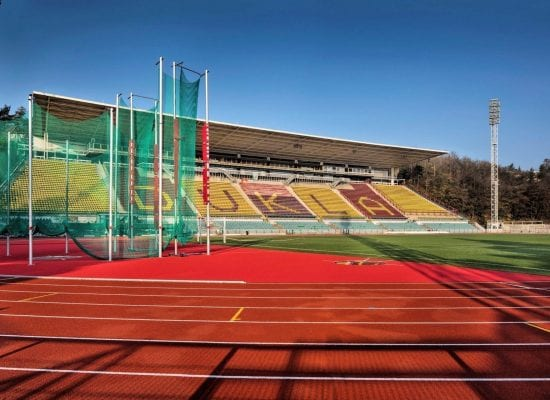Juliska Stadium, Prague, Czech Republic