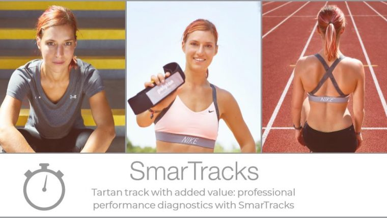 Tartan track with added value: professional performance diagnostics with SmarTracks