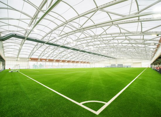 St. George's Park Indoor pitch