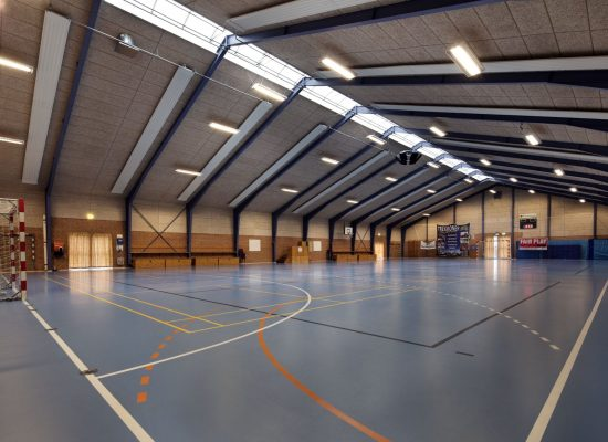 Sports center, Trekroner, Roskilde